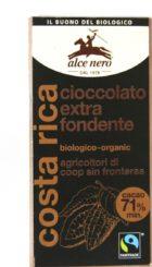 Cioccolato extra fondente – Alce Nero
