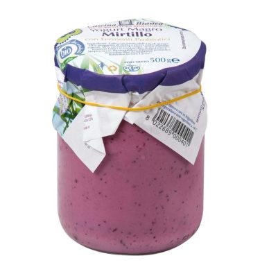 Yogurt magro al Mirtillo con probiotici