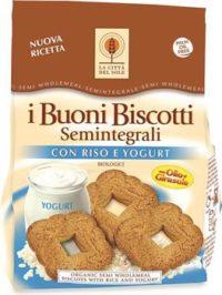 I Buoni Biscotti con Riso e Yogurt