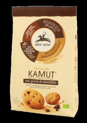 Frollini di Kamut con gocce di Cioccolato