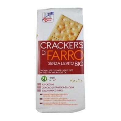 Crackers integrali di Farro
