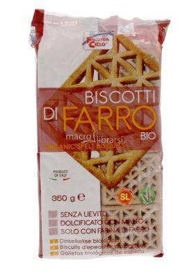Biscotti di Farro senza lievito La Finestra sul Cielo