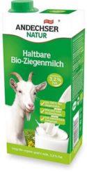 Latte di capra intero uht