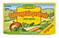 Dado vegetale in cubetti