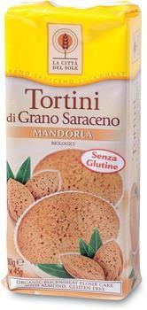 Tortini di grano saraceno e mandorle