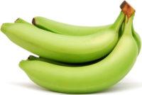 Banane giallo-verdi (poco mature) importate