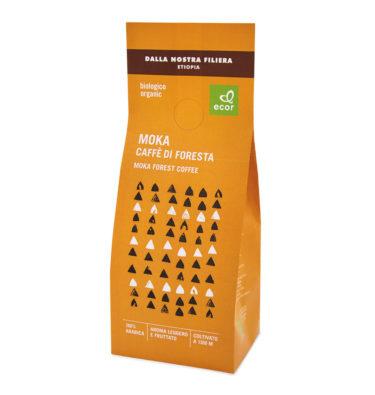 Caffè di foresta per moka fair trade