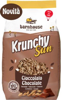 crunchy sun al cioccolato al latte