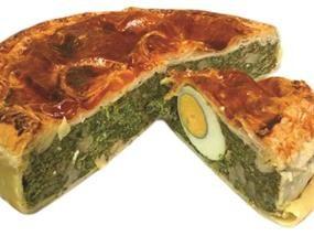 Torta Pasqualina Fresca agli Spinaci