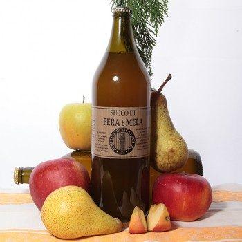 Succo di mela e pera