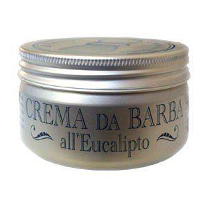 Crema da barba all'eucalipto