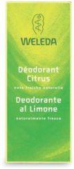 Deodorante al limone Weleda