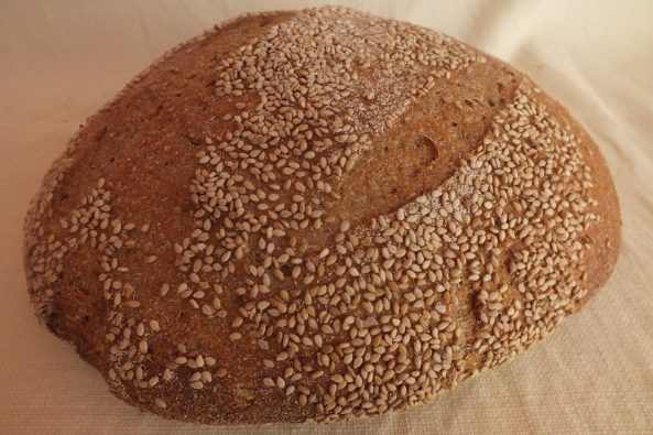 Pane di Farro al Sesamo