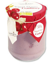 Yogurt magro al Cranberry