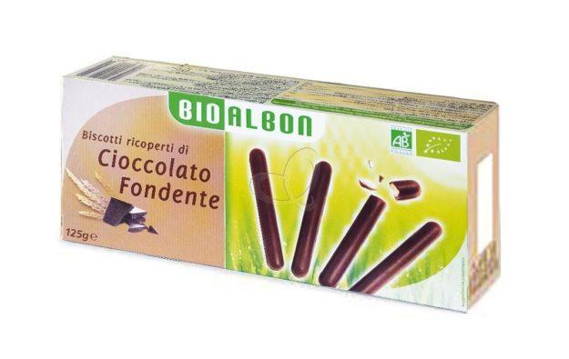 Bastoncini ricoperti di Cioccolato Fondente