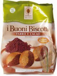 I Buoni Biscotti con Farro Cacao e Mandorle