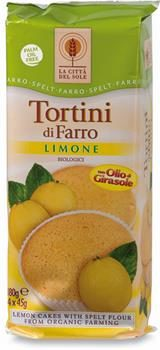 Tortini di farro al limone