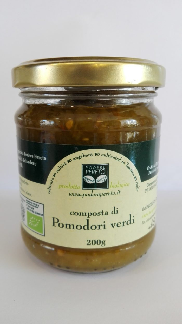 Composta di Pomodori Verdi