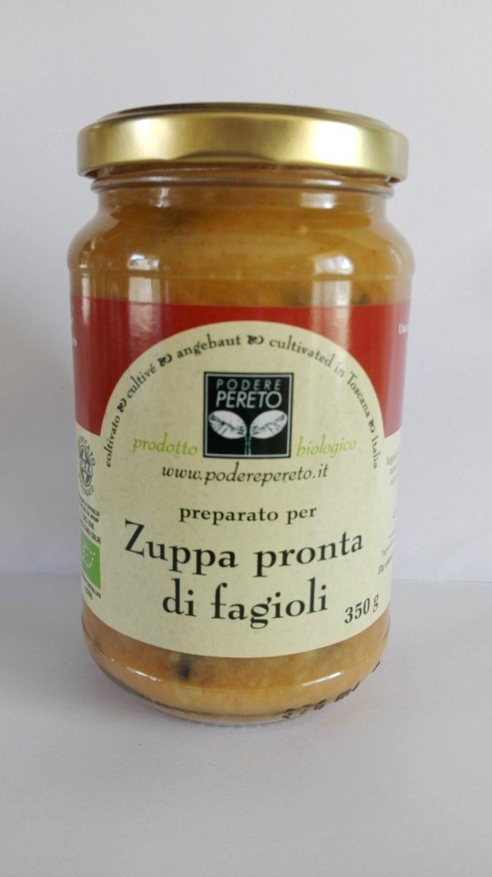 Zuppa pronta di Fagioli e Cavolo nero