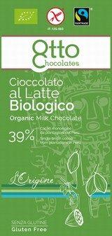 Cioccolato al Latte Biologico