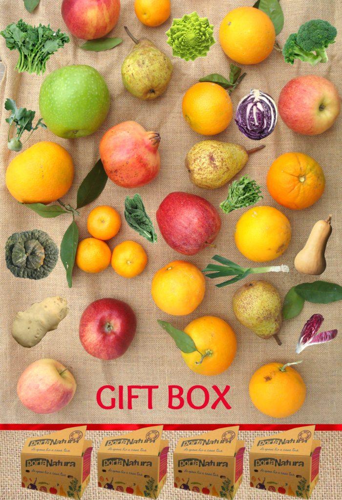 Offerta Regalo, Box di Frutta+Verdura Medio