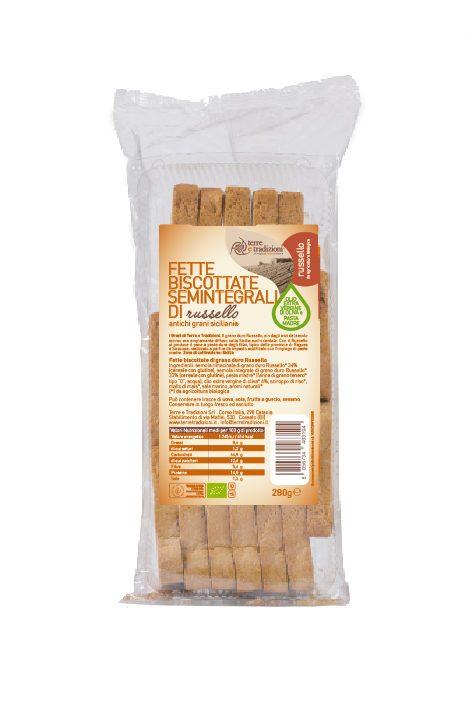Fette biscottate Semintegrali di grano Russello
