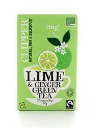 Tè Verde Lime e Zenzero