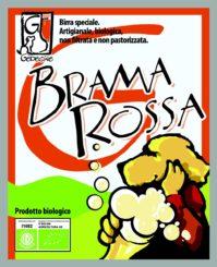 "Birra ambrata ""Brama Rossa"""