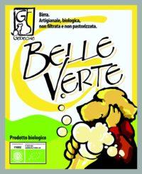 "Birra bionda ""Belle Verte"""