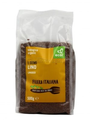 Semi di Lino scuro Filiera italiana