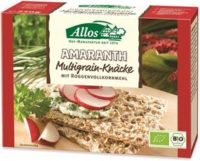 Crackers integrali di Segale e Amaranto