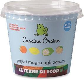 Yogurt magro agli Agrumi Cascine Orsine