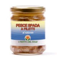 Filetti di Pesce spada in olio e.v.o.