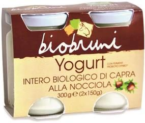 Yogurt latte di capra alla Nocciola
