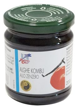 Alghe Kombu allo Zenzero