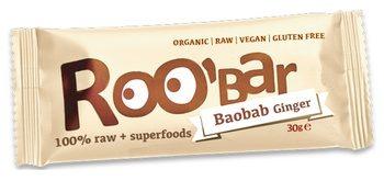 Datteri Baobab e Zenzero - Barretta 100% cruda