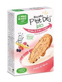 Biscotti ai Cereali e Frutti rossi - Le Moulin du Pivert