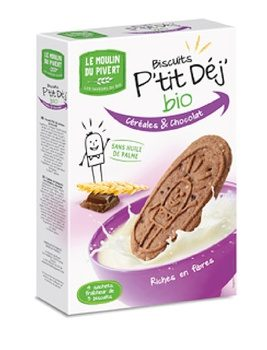 Biscotti ai Cereali e Cacao - Le Muoulin du Pivert