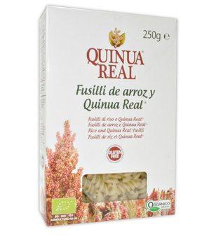 Fusilli di Riso e Quinoa s/glutine - Quinoa Real®