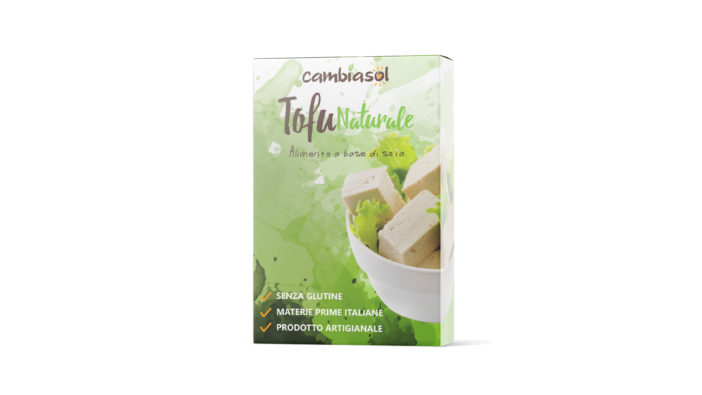 Tofu naturale Cambiasol
