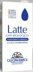 Latte UHT parzialmente scremato – Cascina Bianca