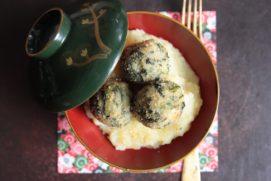 Polpette di spinaci e quinoa
