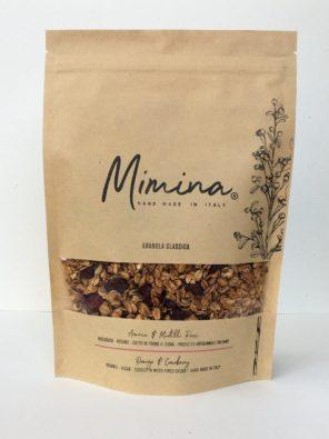 Granola di Arancia e Mirtilli rossi - Mimina