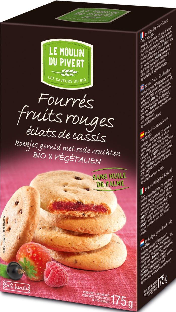 Cookies ripieni ai Frutti rossi