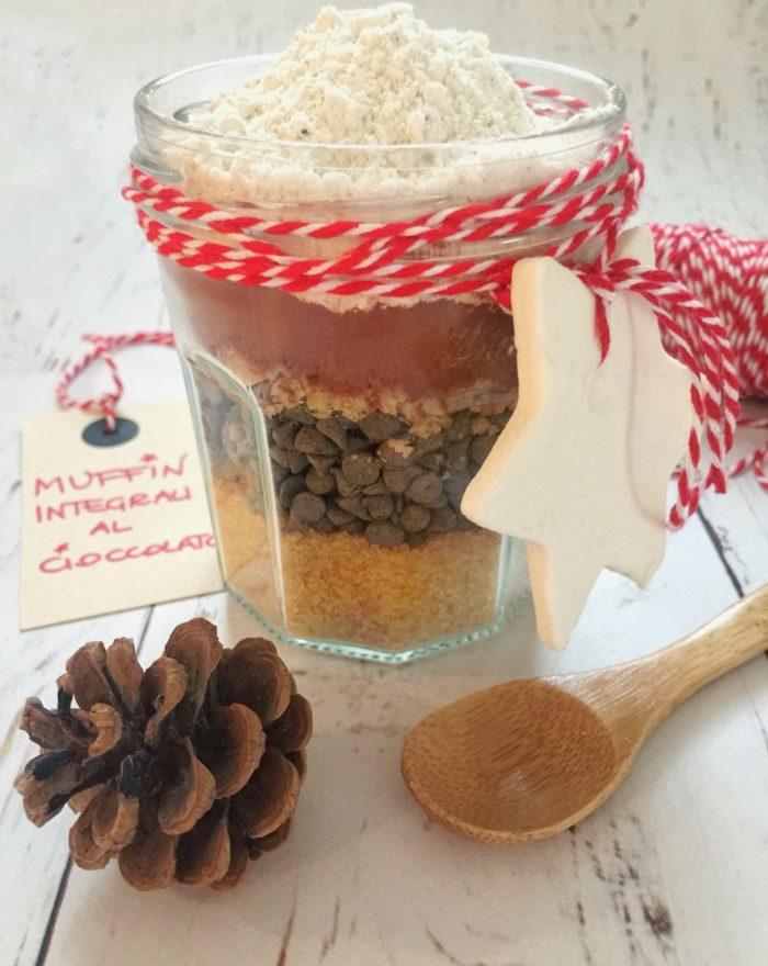 Regalo di Natale fai da te: muffin in barattolo