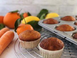 Muffin ACE (arancia carota limone)