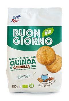 Biscotti con Quinoa e Cannella. Buongiornobio