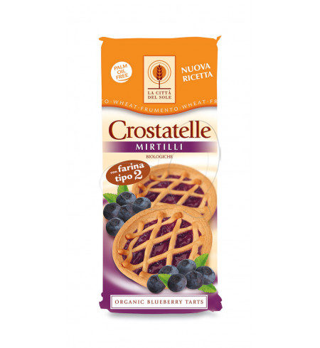 crostatelle ai mirtilli La Città del Sole