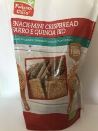 Snack-mini Crispbread Farro e Quinoa