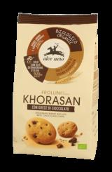 Frollino di Grano Khorasan con gocce di cioccolato Alce Nero